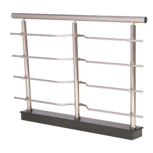 Modelo 2 barandillas aluminio inoxidable barandillas - Barandilla de aluminio ...