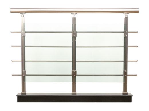Modelo 8 barandillas aluminio inoxidable barandillas - Barandilla de aluminio ...