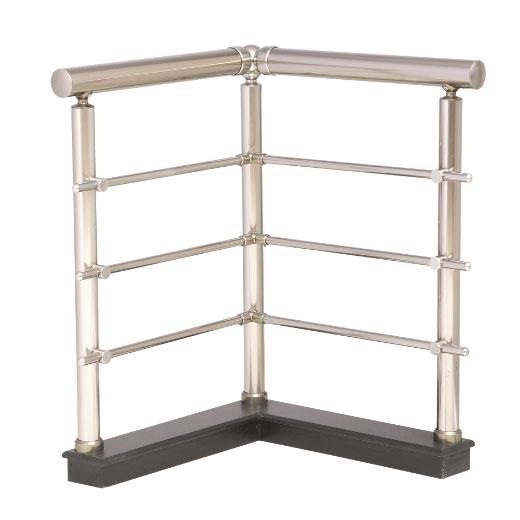 Modelo 4 barandillas aluminio inoxidable barandillas - Barandilla de aluminio ...