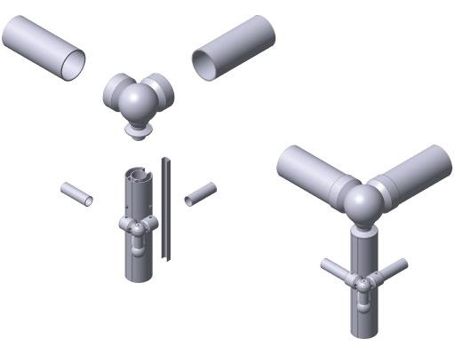 Sm07003 perfil pasamanos aluminio inoxidable o50x2 5 for Pasamanos de aluminio