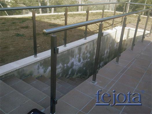 Barandillas inox tipo kit para exterior de aluminio noticias fejota - Barandillas para terrazas exteriores ...